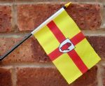 HAND WAVING FLAG (SMALL) - Ulster